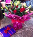 Gift Occasion - Rose & Lily Bouquet
