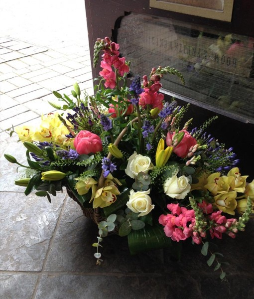 Gift Occasion – Large Basket Arrangement