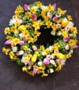 Sympathy Flowers Spring Wreath-026