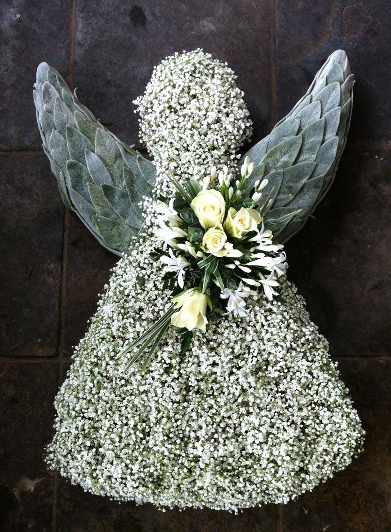 Sympathy archives the cornflower floral design angel sympathy flowers izmirmasajfo