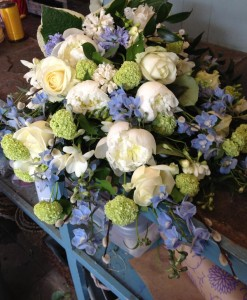 Sympathy Flowers Sheaf