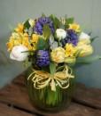 Spring Green Sweetie Jar