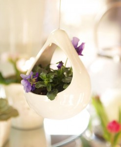 Hanging Pear Shaped Vase