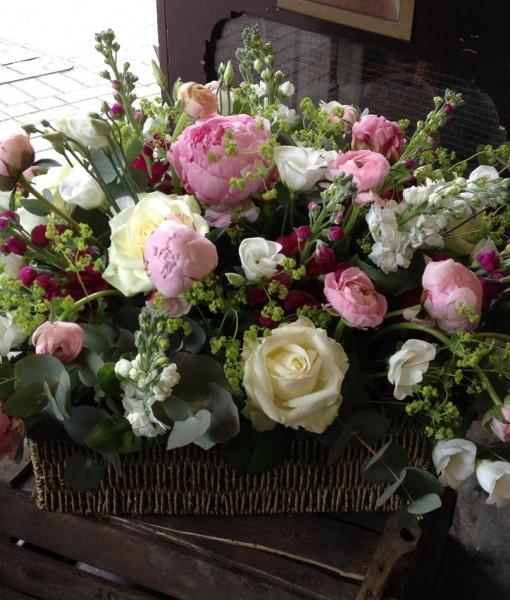 Gift Occasion – Beautiful summer flower gift basket