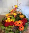 Posy Sympathy Flowers-017