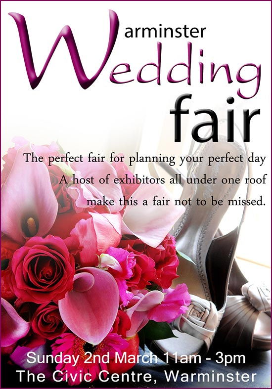 Wedding Fair Warminster Civic Centre