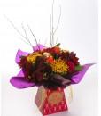 festive-jewels-handtied-bouquet-in-gift-box-the-cornflower