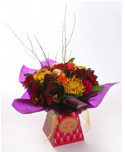 festive-jewels-handtied-bouquet-in-gift-box-the-cornflower